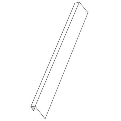 profil PVC ukončovací, na 12.5 mm 2.5 m