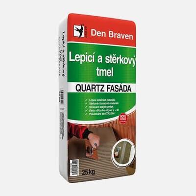 Den Braven lepiaci a stierkový tmel Quartz Fasáda